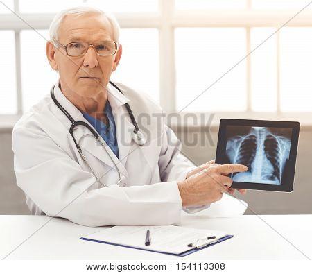 Handsome Old Doctor