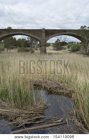 Old Disused Railway Bridge, Palmer, South Australia