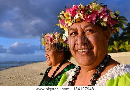 Mature Polynesian Pacific Island Women