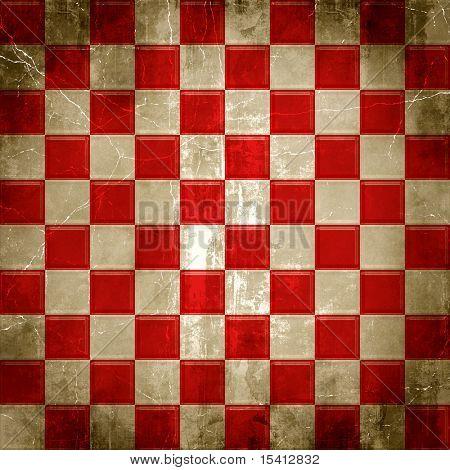 Large Checkered Grunge