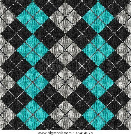XL Argyle Sweater Seamless Background Design