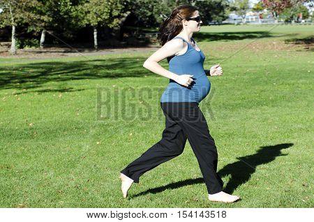 Pregnancy - Pregnant Woman Exercise