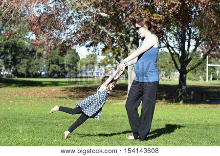 Pregnancy - Pregnant Woman Family
