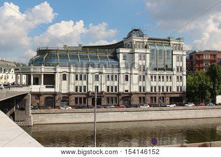 Shopping and Office Center Negotsiant. Bolshaya Yakimanka street, Moscow