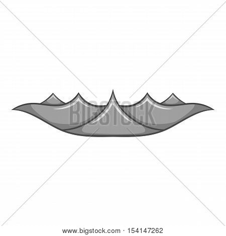 Ripple wave icon. Cartoon illustration of ripple wave vector icon for web