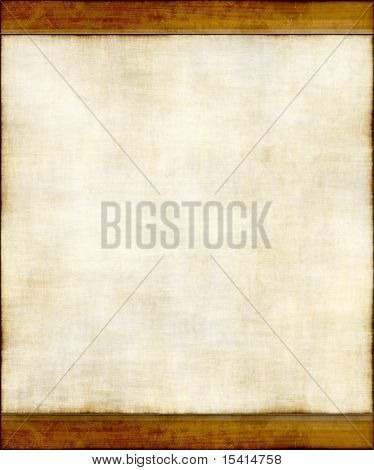 Old Light Paper Wood Trim, See Vector Also In My Portfolio