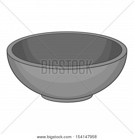 Bowl icon. Cartoon illustration of bowl vector icon for web
