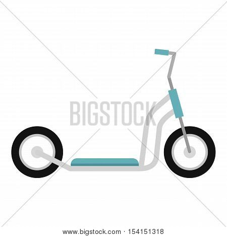 Scooter icon. Flat illustration of scooter vector icon for web