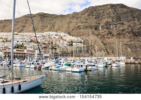 View Of Los Gigantes City