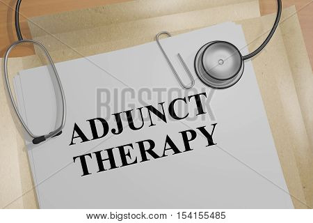 Adjunct Therapy - Medical Concept