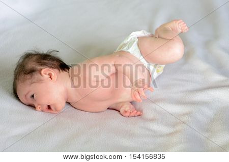 Infant Baby Roll Over