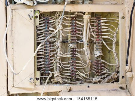 Electronic System In An Aircraft Wreck In Iceland