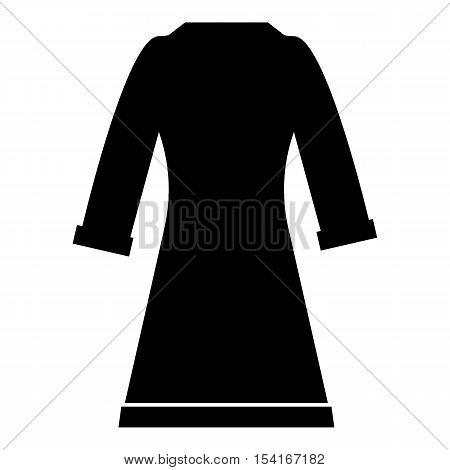 Bathrobe icon. Simple illustration of bathrobe vector icon for web
