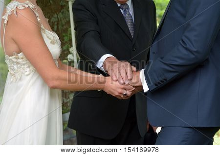 Wedding Ceremony -exchange Of Wedding Vows