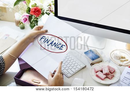 Finance Accounting Balance Bookkeeping Budget Concept
