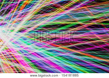 Abstract colorfull futuristic background texture colorfull laser lights abstract rainbow lines