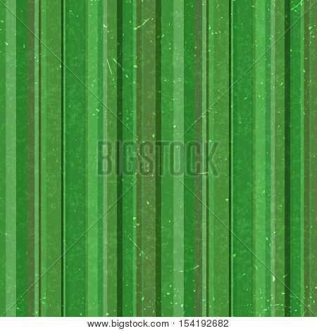 Vertical Green Stripes Pattern, Seamless Texture Background. Ideal For Printing Onto Fabric And Pape