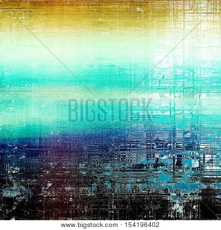 Hi res grunge texture or retro background. With different color patterns: yellow (beige); blue; cyan; white; black