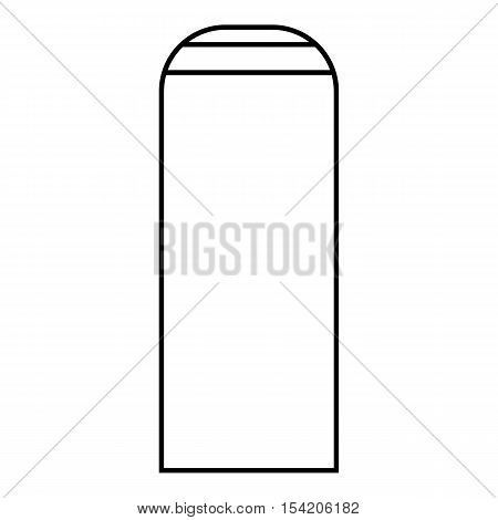 Thermos icon. Outline illustration of thermos vector icon for web