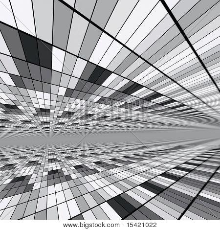 Mosaic Abstract Design