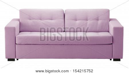Light Sofa Isolated