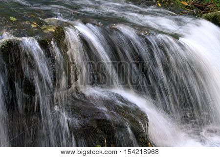 Flowing water the river in Portugal