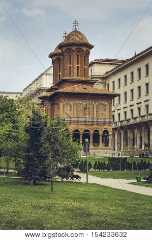 Kretzulescu Church, Bucharest, Romania