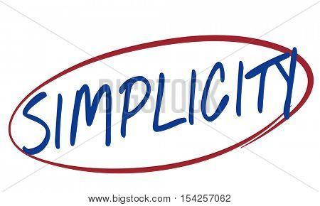 Simplicity Design Contemporary Minimal Modern Concept
