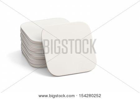 White Coasters