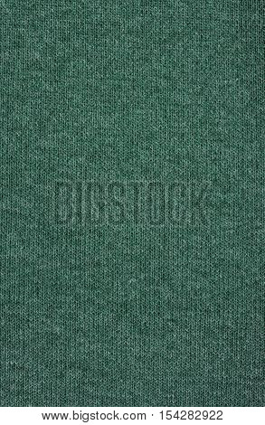 Teal knitwear fabric texture. Fashion fabric texture background