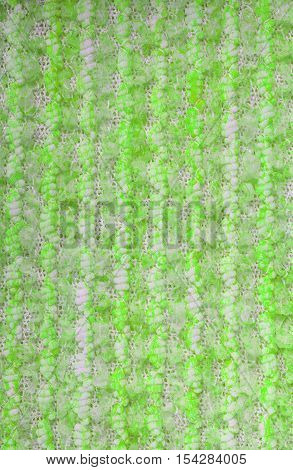 Lime knitwear fabric texture cloth background closeup