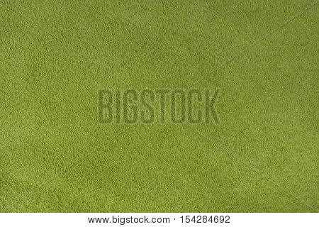 Yellow velour texture background horizontal close up
