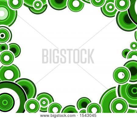 Green And Black Circles