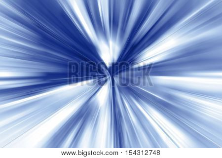 Blue and white streaked background
