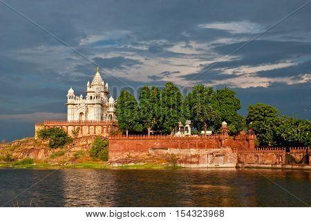 Jaswant Thada mausoleum in Jodhpur Rajasthan India