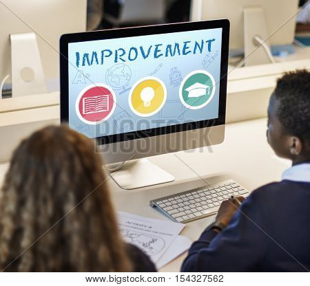 Improvement Development Enhance Refine Growth Motivation Concept