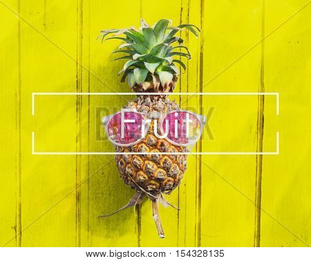 Fruit Freshness Juice Natural Nutrition Ripe Raw Concept