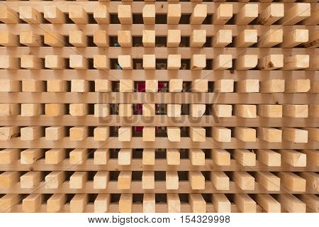 wood piles rectangle texture as a background