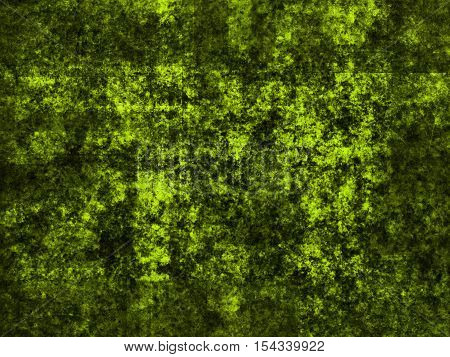 abstract wide colored scratched grunge background - green