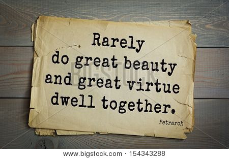 Top 15 quotes by Francesco Petrarca - Italian scholar and poet in Renaissance Italy, humanist.