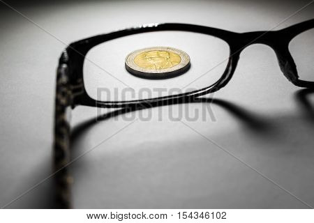 Thailand Coins And Glasses.