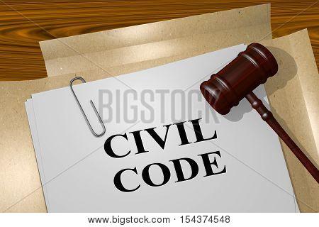 Civil Code - Legal Concept