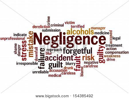 Negligence, Word Cloud Concept 8