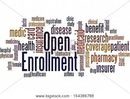 Open Enrollment, Word Cloud Concept 5