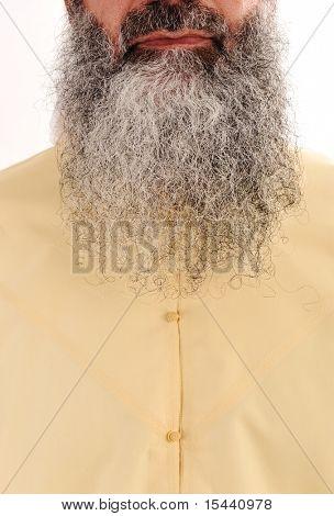 Long beard, facial hair - look as Osama