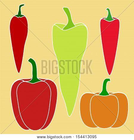 Pepper Vegetable Set