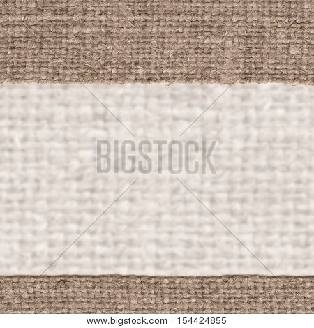 Textile tablecloth, fabric space, buff canvas, grained material old-fashioned background