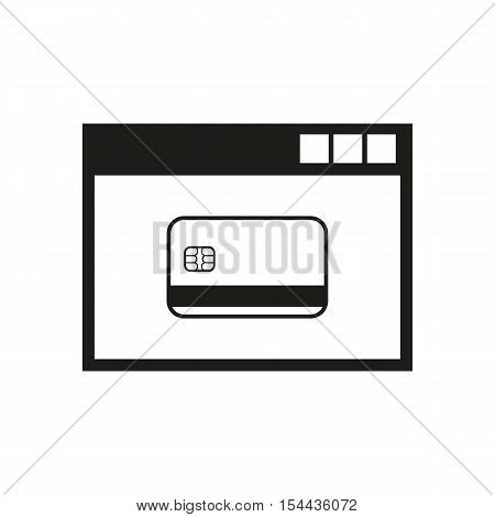 Online payment icon. vector design. Online payment symbol. Online payment web. Online payment graphic. app. logo. object. flat. image. sign. eps. art. picture - stock vector