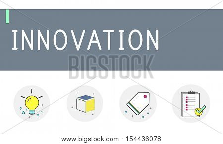 New Product Brand Design Ideas Imagination Draft Concept