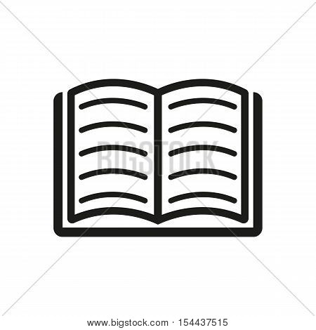 Book icon. vector design. Library symbol. web. graphic. JPG. AI. app. logo. object. flat. image. sign. eps. art. picture - stock vector